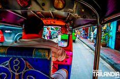 Conoce 5 útiles consejos para coger un Tuk-Tuk en Bangkok. 5 trucos para que no te timen sus conductores en tu primera visita a la capital de Tailandia. #bangkok #tailandia #vacaciones #viajar #tuktuk #taxi http://ift.tt/2wEXSXj