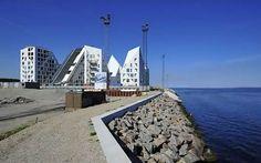 Isbjerget, condos in Aarhus, Denmark by JDS and Cebra