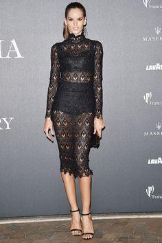 Izabel Goulart in Dolce & Gabbana #LBD