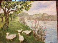 Laghetto.    Kloreta Painting, Art, Painting Art, Paintings, Kunst, Paint, Draw, Art Education, Artworks