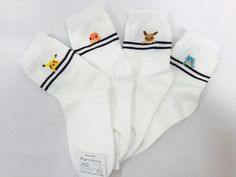 New Unisex Little Pocket Monster Pokemon Go Characters Cotton Socks_4 options…