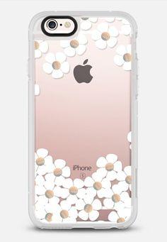 GOLD DAISY RAIN iPhone 6 by Monika Strigel iPhone 6s Plus case by Monika Strigel | Casetify