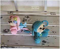 kertupertu heARTmade: Amigurumi Crochet - Little Monkey