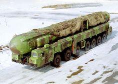 Russian strategic forces Topol road-mobile ballistic missile