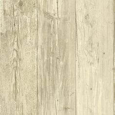 A Depiction Of Weathered Knotty Wood Planks In Strippable Prepasted Wallpaper