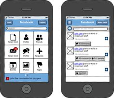 MOObileFrames: a collection of awesome mobile wireframes