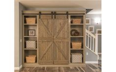 Barn Door by Ritz Craft Custom Homes