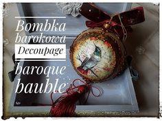 Inspiracje z duszą DecoupageArt: Christmas Mason Jars, Christmas Crafts, Xmas, Christmas Ornaments, Dora, Decoupage Art, Creative Crafts, Chalk Paint, Ornaments