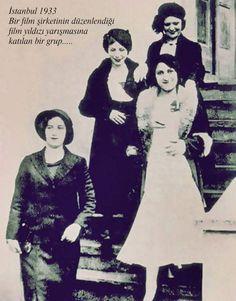 Film Yıldızı Yarışması (1933, Istanbul) #birzamanlar #istanlook #nostalji
