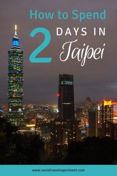 How to spend 2 days in Taipei like a local. A Taipei itinerary with the best food in Taipei and other secret things to do in Taipei. Travel Tours, Travel Advice, Budget Travel, Travel Guides, Travel Hacks, Taiwan Travel, Asia Travel, Travel Reviews, Worldwide Travel