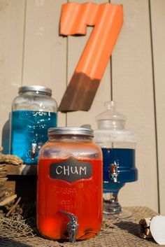 Chum juice for shark