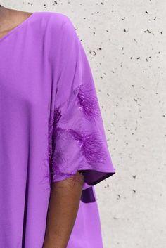 CRUBA WAVY DRESS