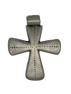 "Ethiopian Coptic Cross Pendant (1.6"" X 1.5"")"