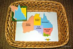Free printable Language, Science, Culture, and Math lessons on Australia