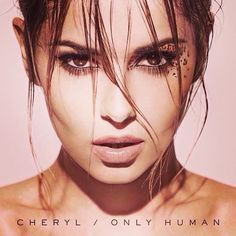 I really like the make up leopard spots around her eye:D  Cheryl's new album Only Human - taken from her Instagram.