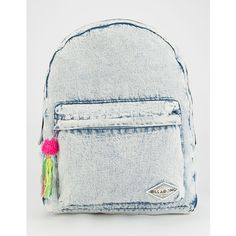 Billabong Sandy Trails Backpack ($49) ❤ liked on Polyvore featuring bags, backpacks, chambray, backpacks bags, billabong, rucksack bag, knapsack bags and billabong bag
