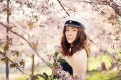 Ylioppilaskuvat Roihuvuoren kirsikkapuistossa Sweet Girls, Riding Helmets, Toast, Portraits, Student, Fashion, Moda, Fashion Styles, Cute Girls