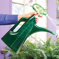 Easy Mist And Water - Powered Plant Mister, Watering Can and Mixer