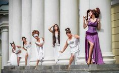 Megara and the muses
