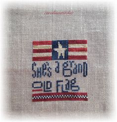 Grand old Flag Heart in Hand