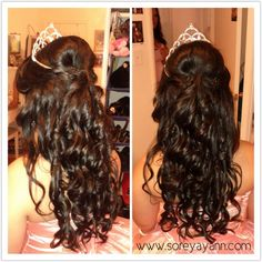 quinceanera hair styles