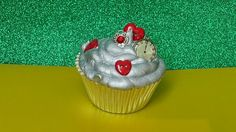 Oz tin man cupcake... Just too cute!