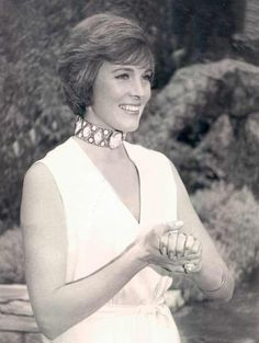 Julie Andrews - classy and lovely.