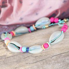 Maak zomerse sieraden met onze vrolijke kleuren acryl kralen #summer #shell #jewelry