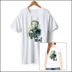 One Direction: One Direction Exclusive Niall Splatter Tee