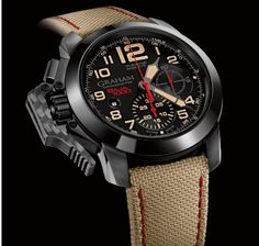 How the smooth take the rough: GRAHAM Chronofighter Oversize Baja 1000