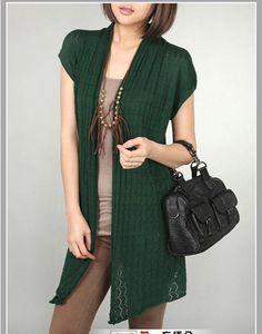 Oversize V-Neck Long Sleeve Tassel Knitting Cardigan | Sweaters ...