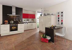 Cool Einbauk che von DIETER KNOLL Kochen und Backen in modernem Ambiente