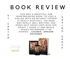 *** SAVING GRACE ***  Looking for a new series to start over the holidays?   Try Saving Grace Book One in a Broken Heart Series  (SERIES COMPLETE) New College, Saving Grace, Saved By Grace, New Series, The Only Way, Book 1, Book Review, Grief, Holidays