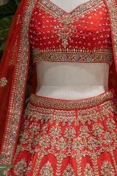 Raw Silk Lehenga, Bridal Lehenga Choli, Saree, Special Occasion, Indian, Crop Tops, Women, Sari, Saris
