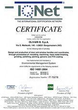 Olivari B. - Certificazioni | www.gallisrl.eu