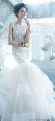 Lazaro | Bridal 2013  this might be my 2nd choice