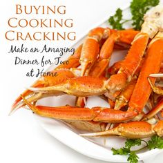 Tips for buying, cooking, and cracking Snow or King Crab legs, as well as side dishes and desserts for an amazing crab leg dinner at home.