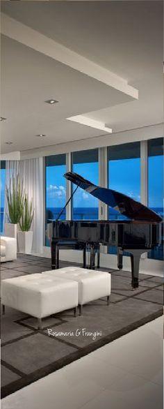Home Interiors | Rosamaria G Frangini || Living with a Piano
