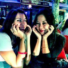 Malu Abib e Karin Nagae. #palermosoho Buenos Aires, Argentina, Maio de 2015.