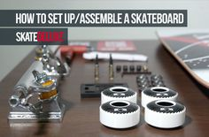 How To Set Up / Assemble A Skateboard – skatedeluxe Skate Shop