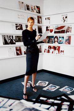 February 2002 Harper's Bazaar by Patrick Demarchelier