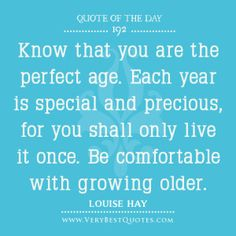 Rock your age, no matter what it is!