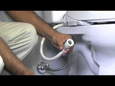 How to Install a toilet bidet DIY at home.
