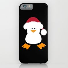 Christmas Penguin iPhone case - Protect your iPhone with a one-piece, impact resistant, flexible plastic hard case featuring an extremely slim profile. Simply snap the case onto your iPhone for solid protection and direct access to all device features.