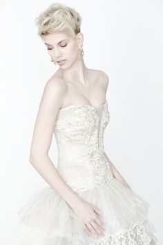 Makány Márta wedding dress
