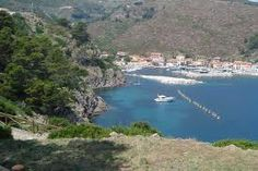 Isola di Capraia. Italy