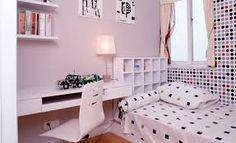 Resultado de imagem para decoração quarto feminino jovem com papel de parede