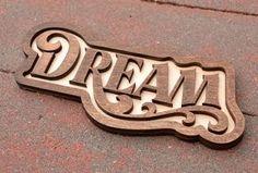 Dream Door Magnet Laser Cut Birch by SweetHollowMedia on Etsy