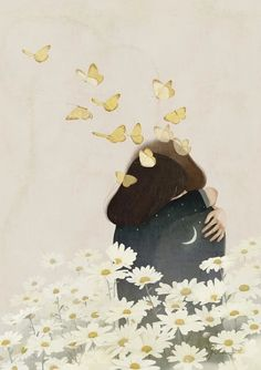 Jiwoon Pak : rêveries pastel de Corée | doodlesnmood #illustration #corée #dessin #digitalpainting
