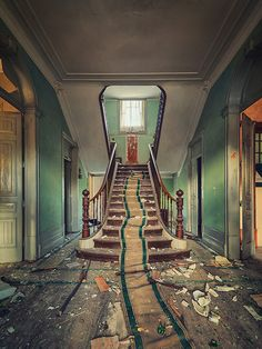 Lost | Forgotten | Abandoned | Displaced | Decayed | Neglected | Discarded | Disrepair | Staircase